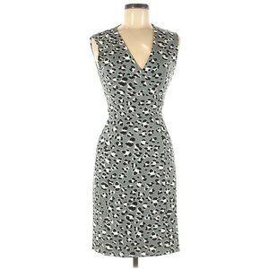 Diane Von Furstenberg 6 New Yahzi Short Wrap Dress